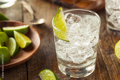 Fototapeta Alcoholic Gin and Tonic