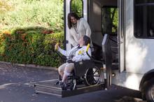 Using A Wheelchair Lift
