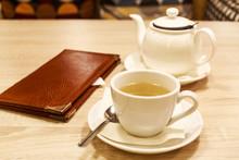 Restaurant Bill. Folder With T...