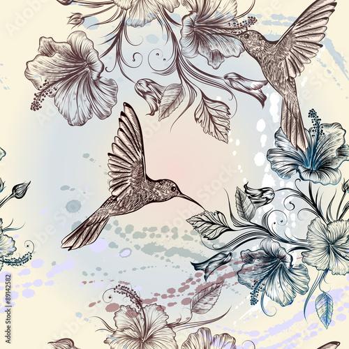 wektorowy-bezszwowy-tapeta-wzor-z-ptakami