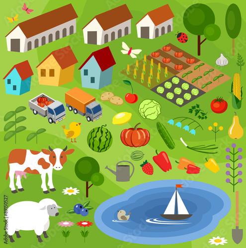Inmitten von Farmen, Farben und Magie