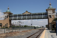 Train Station In Pomona, California