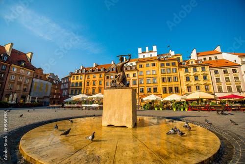 Plakat Rynek w Warszawie