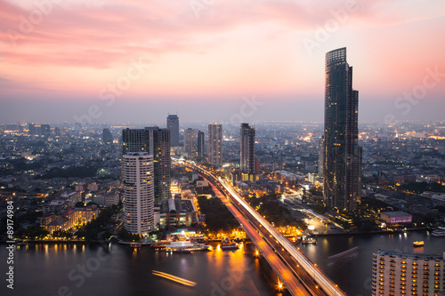 Photo Stands Bangkok The bangkok, Thailand city never sleep