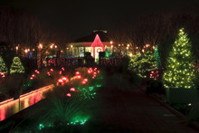 Christmas At Daniel Stowe Gardens In Belmont, NC