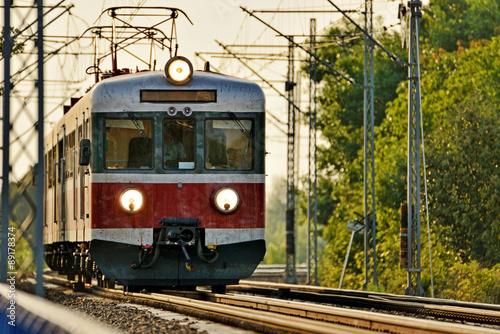 Fotografía  El transporte ferroviario