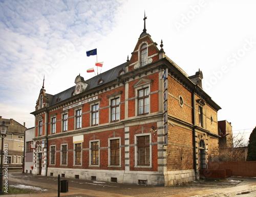 Wall Murals Bridges Post office in Swiecie. Poland