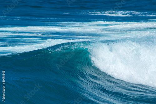 Stickers pour porte Eau breaking wave