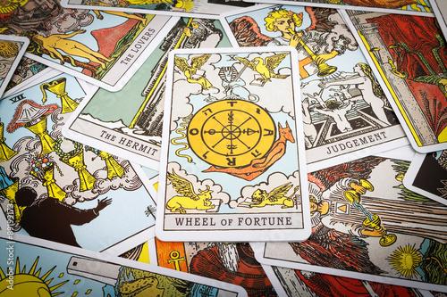 Tarot cards Tarot Canvas Print