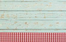 Menü Tafel Karte Schild Hintergrund Holz Türkis Mit Textfreiraum