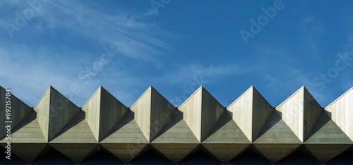 Photo  Geometric Skyline