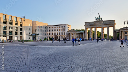 Keuken foto achterwand Berlijn Brandenburg Gate, Berlin