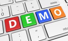 Demo Sign Keyboard Button