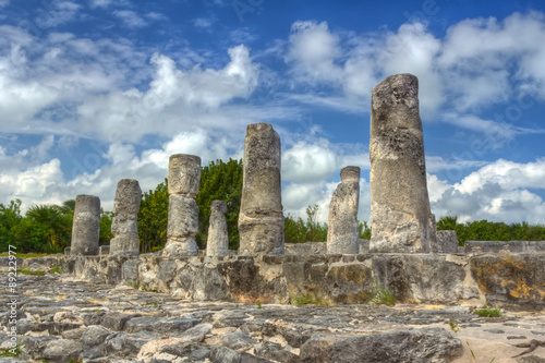 Photo  El Rey Ruins in Cancun, Mexico