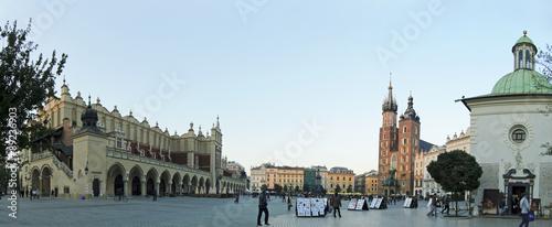 Grand Market Square in Krakow, Poland