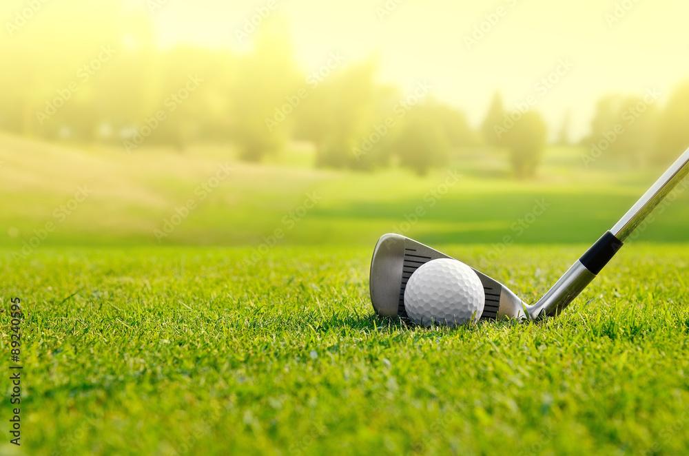 Fototapety, obrazy: Let's golf