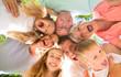 canvas print picture - familie zusammen viele generationen lachen