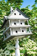 Vintage Bird House Garden Orna...