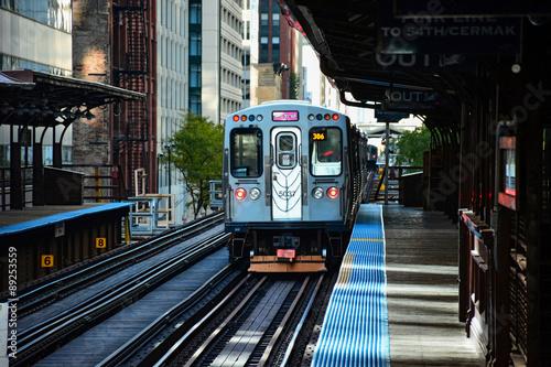 Poster Chicago Chicago CTA Train