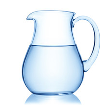 Glass Pitcher Of Water.