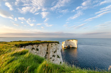 Old Harry Rocks Near Swanage I...