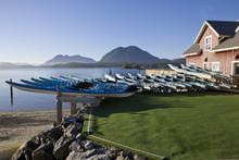 Kayaks At Tofino, BC