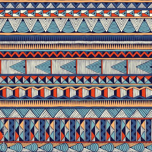 Photo  Tribal vector pattern