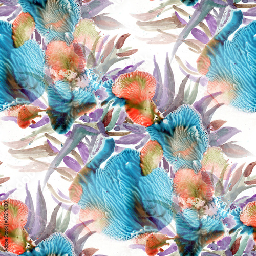 kwiaty-morskie-rysowane-akwarela