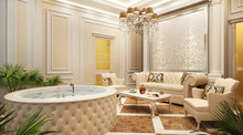 A Spa Area In A Classic Style