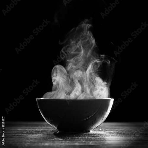 Fotografie, Tablou Bowl of hot soup