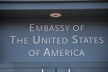 American Embassy In Berlin Ger...