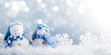 Snowman And Christmas Decorati...