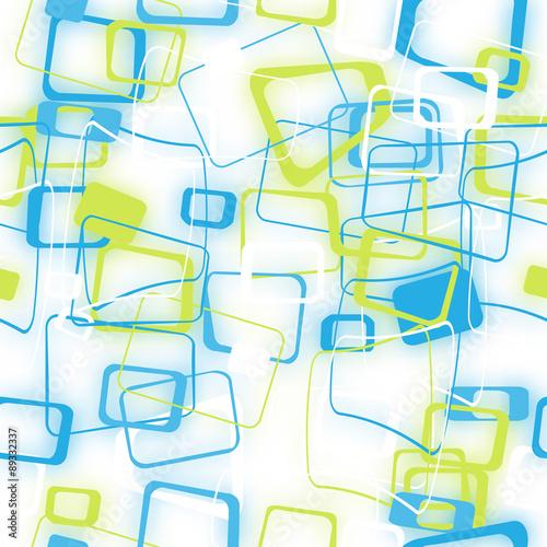 Naklejka - mata magnetyczna na lodówkę abstract seamless pattern of blurred colored squares