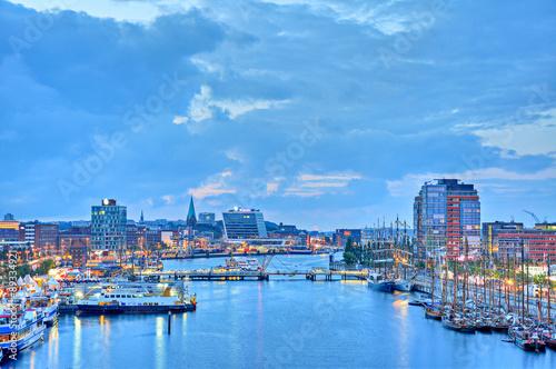 Fototapeten Port Hafen Kiel Kieler Woche