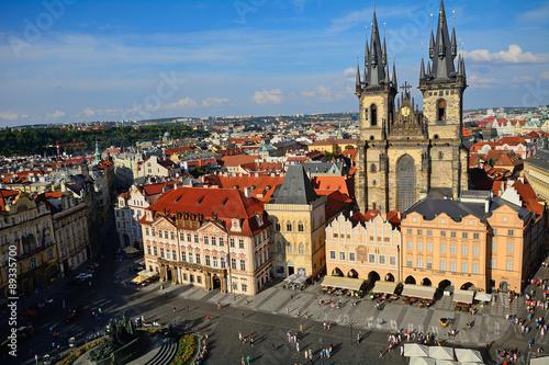Staande foto Praag Tyn Church, Prague, Czech Republic