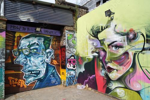 Street Art Londra Fototapeta
