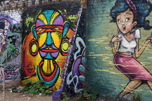 Street Art Londra Tableau sur Toile