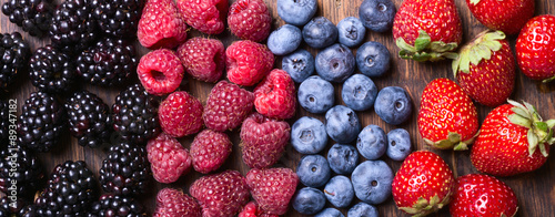 Poster Fruits Berries