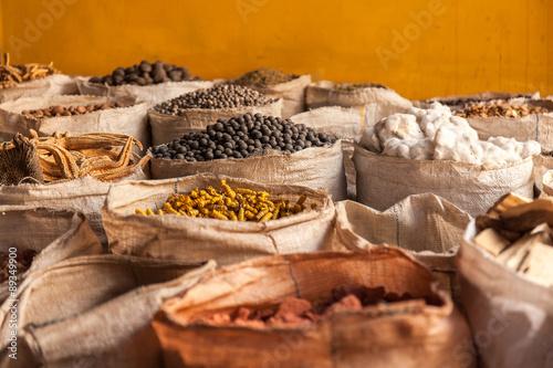 Granaglie varie in sacchi di tela