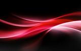 streszczenie czerwonym tle fal świetlnych - 89350764