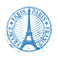 Paris Vector Logo Design Templ...