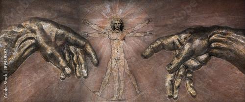 renesans-czlowiek-witruwianski-i-stworzenie-adama