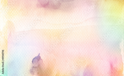 Plakat Streszczenie akrylowe i akwarele malowane tła. Pape tekstury