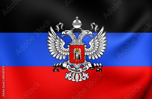 Fototapety, obrazy: Flag of Donetsk People's Republic