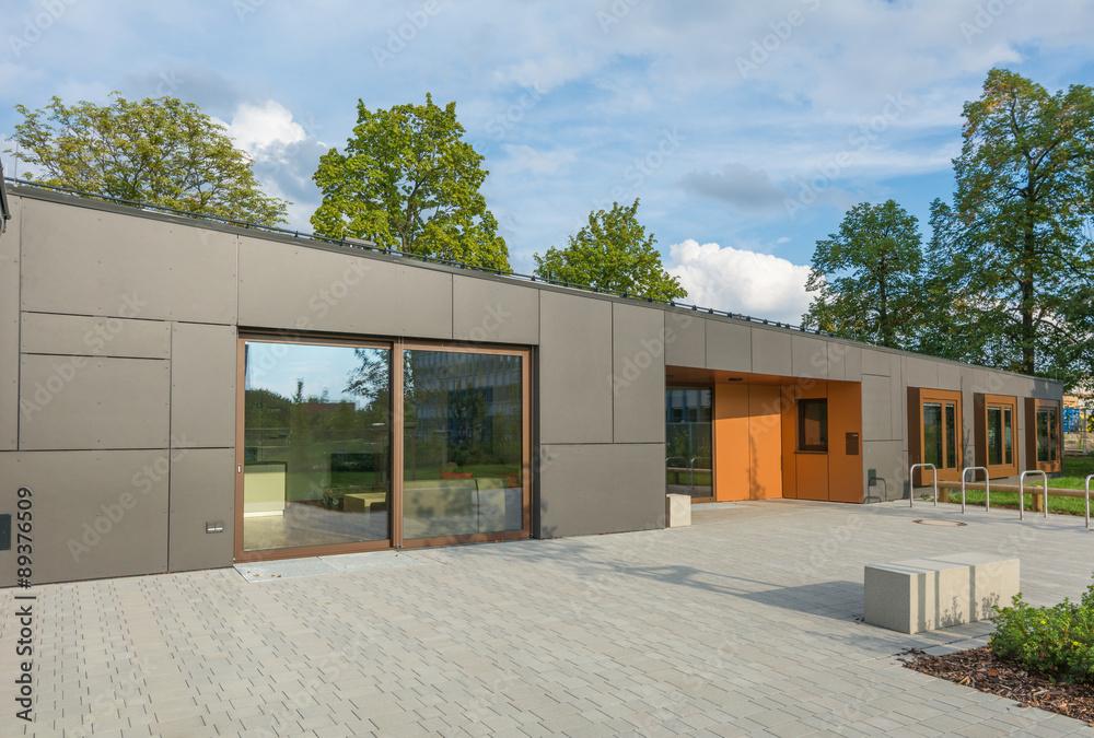 Fototapeta Modernes Gebäudedesign