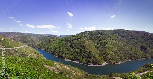 Panorama Sil River Canyon ,Spain
