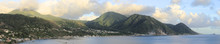 The Beautiful Lush Caribbean Island Of Dominica.