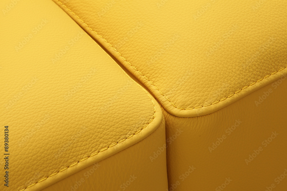 Fototapety, obrazy: Leather detail - upholstered furniture