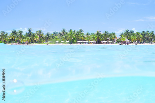 Fotografie, Obraz  Tropical Caribbean paradise