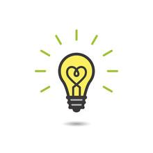 Heart Filament Bulb